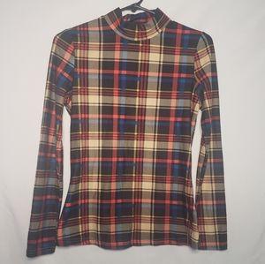 Long sleeve turtleneck shirt